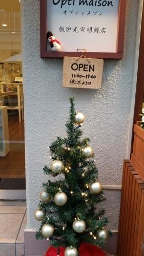 クリスマスディスプレイ_d0191211_12544374.jpg