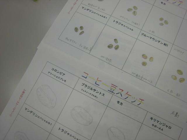 上級コース4生豆の鑑定Ⅱ_e0349922_18482742.jpg