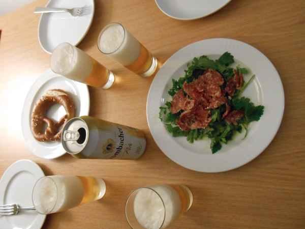 ベルリン1 ベルリンでイノシシ肉を料理。珍しいウナギの薫製も!_a0095931_12553731.jpg