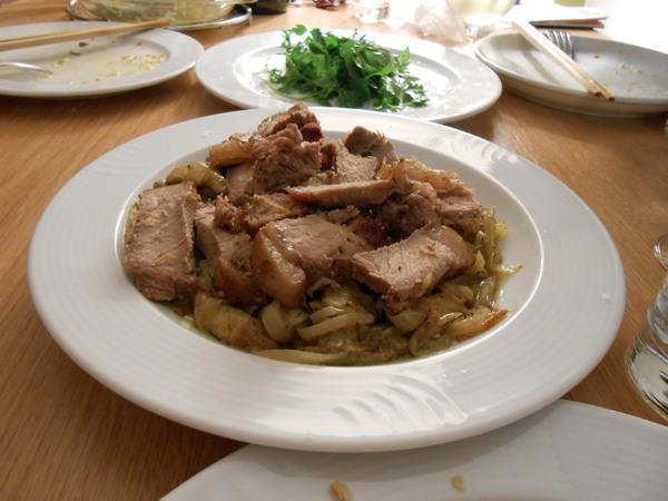 ベルリン1 ベルリンでイノシシ肉を料理。珍しいウナギの薫製も!_a0095931_13242651.jpg