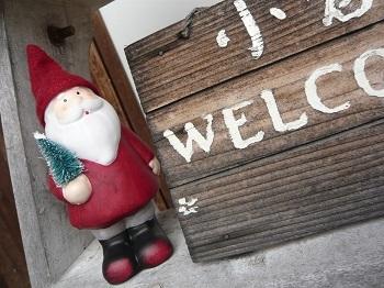クリスマス ☆玄関ポーチ☆_c0369433_18242519.jpg