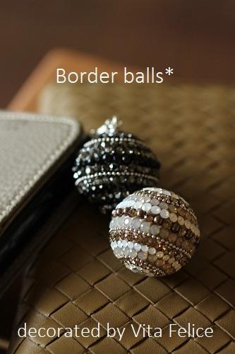 ボーダーball☆グレージュ&ブラック_b0310144_16490763.jpg