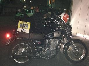 昨日のバイク!!_f0194657_19163865.jpg