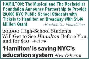 ブロードウェイ・ミュージカル『ハミルトン』(Hamilton)、異例続きの歴史的大ブレイク!! _b0007805_3305016.jpg