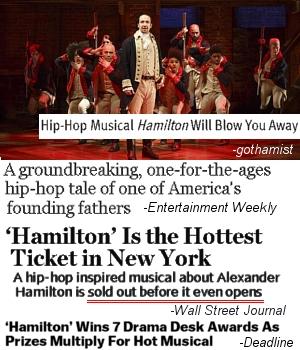 ブロードウェイ・ミュージカル『ハミルトン』(Hamilton)、異例続きの歴史的大ブレイク!! _b0007805_3574819.jpg