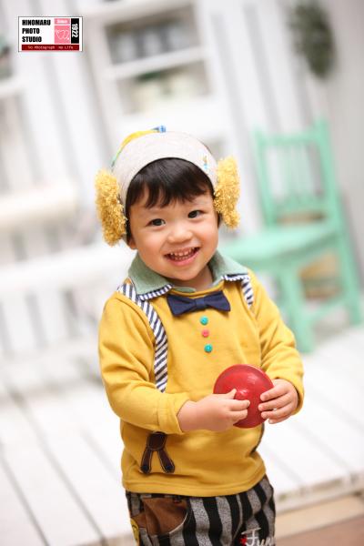 れおんくん☆2才記念_b0203705_13484590.jpg