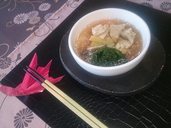 お正月料理教室「餅餃子のお雑煮」_f0323446_23165846.jpg