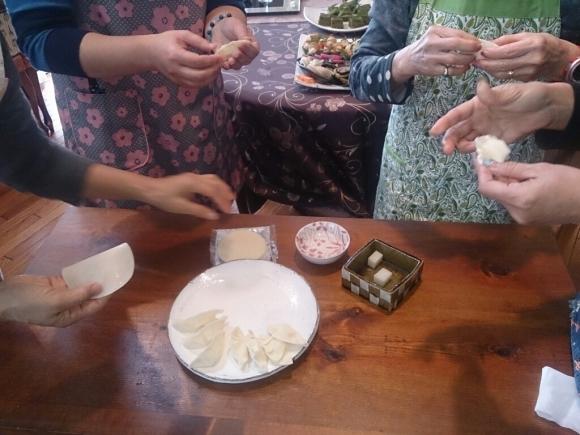 お正月料理教室「餅餃子のお雑煮」_f0323446_23170192.jpg