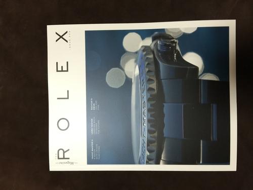 The Rolex Magazine最新号#05が刊行_f0039351_2233634.jpg