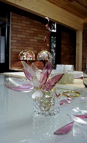 お遊びで作ったガラスの花_a0278866_23422881.jpg