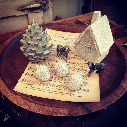 クリスマスものと・・・もこもこマフラー。_a0164280_11383497.jpg