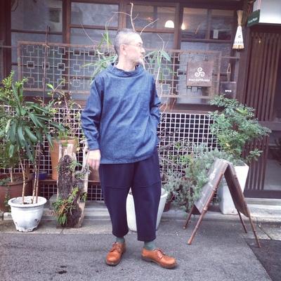 Yarmo Chefs Smock X MITTAN Wool Blacket Pants_e0248492_059827.jpg