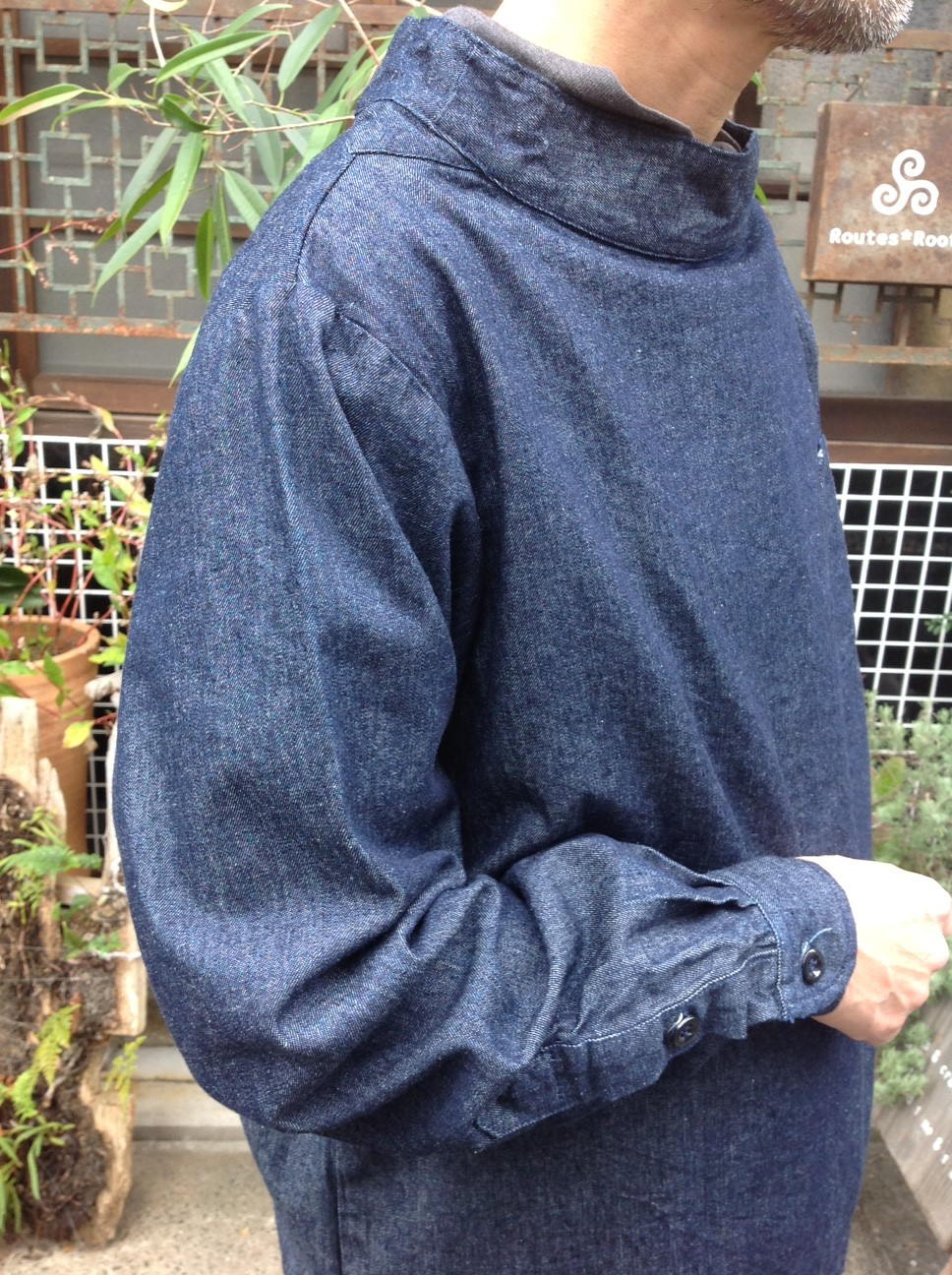 Yarmo Chefs Smock X MITTAN Wool Blacket Pants_e0248492_122058.jpg