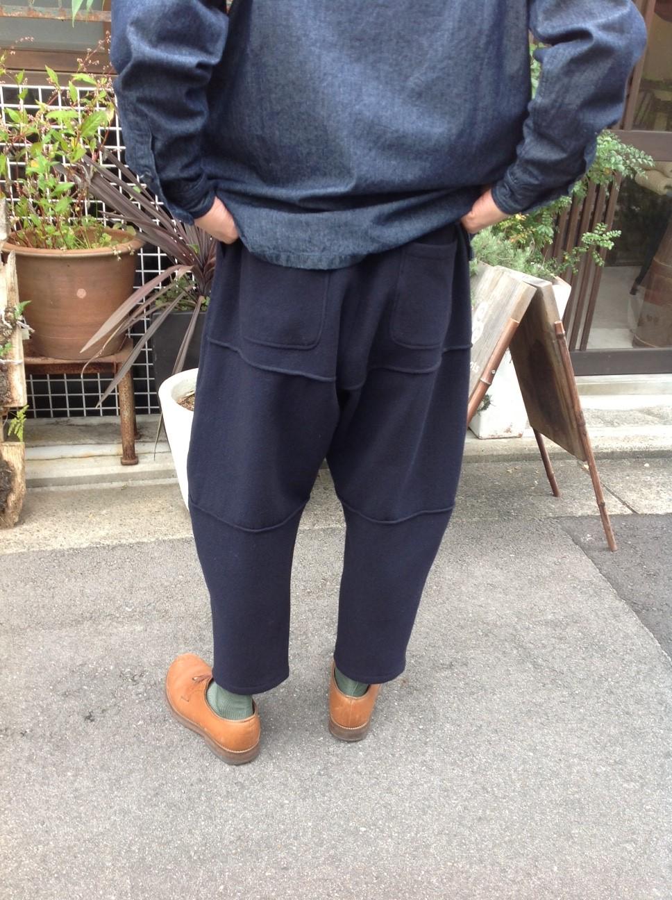 Yarmo Chefs Smock X MITTAN Wool Blacket Pants_e0248492_161082.jpg