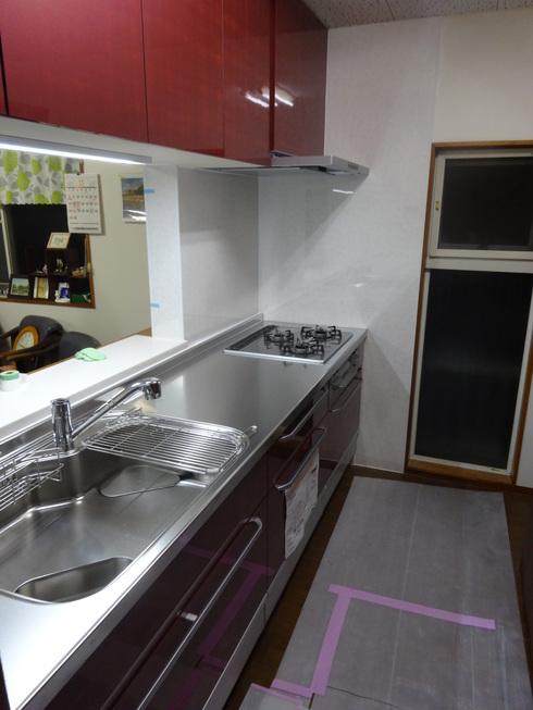 キッチン工事 after_b0078597_11553956.jpg