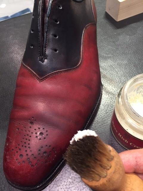 靴はお手入れで復活する!!_b0226322_11330765.jpg