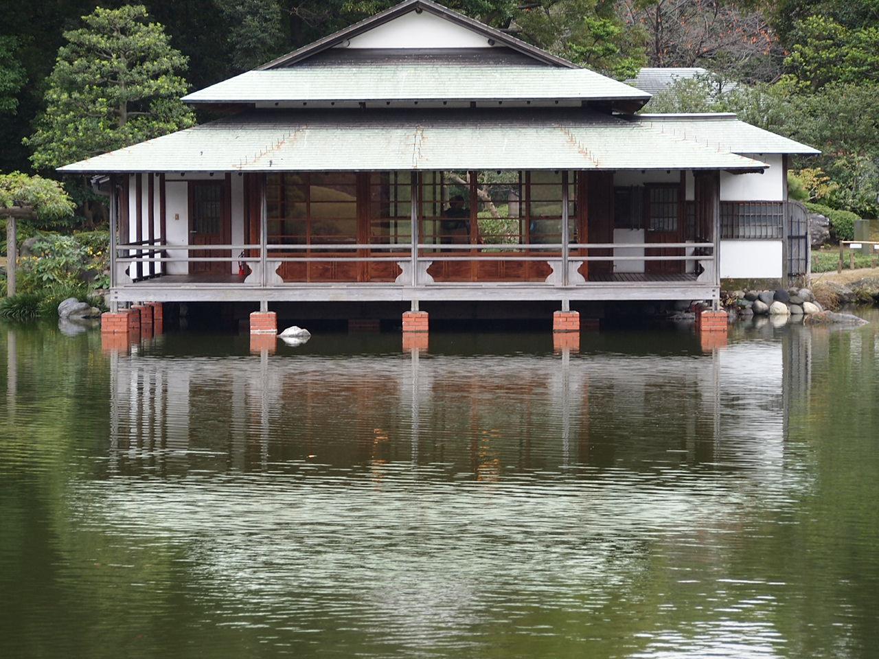 ポツリポツリ小雨降る清澄庭園散策_a0214329_21454938.jpg