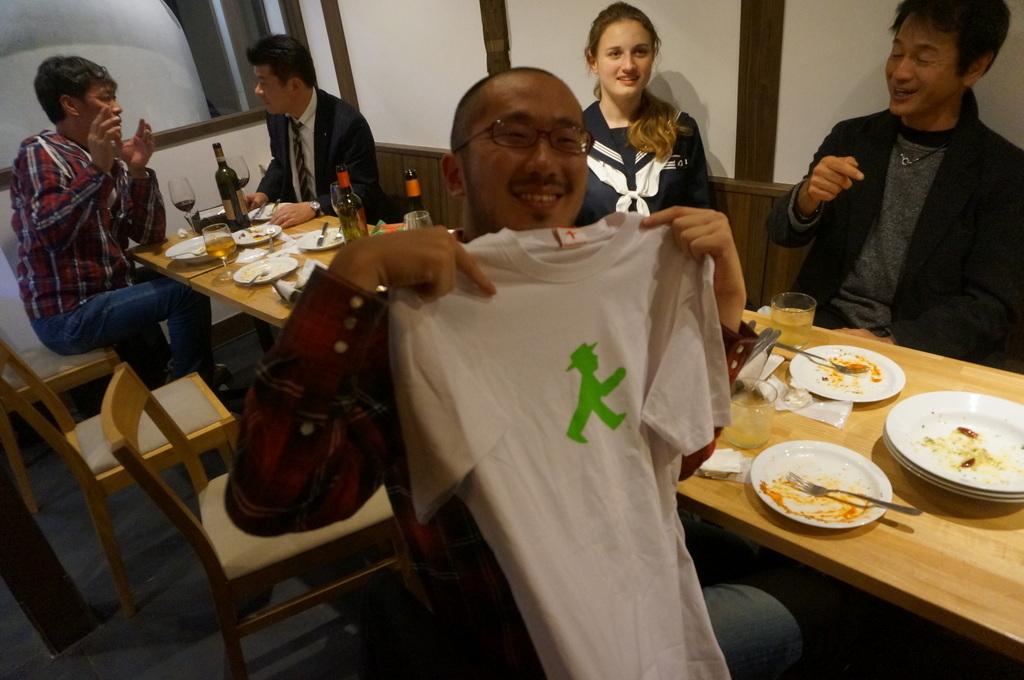 津和野刊行イベント、打ち上げはアルチジャーノさんで。_c0180686_18022710.jpg