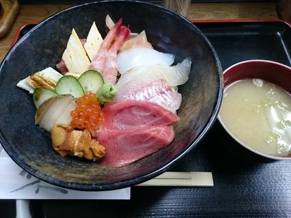 11/24夜勤明け 市場寿司たか 特豪海丼¥1,500+小肌握り¥150@八王子卸売センター_b0042308_2331485.jpg