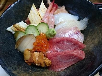 11/24夜勤明け 市場寿司たか 特豪海丼¥1,500+小肌握り¥150@八王子卸売センター_b0042308_2332292.jpg