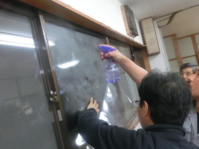まずは「自助」から! 駿河台三丁目の「窓ガラスの飛散防止フィルム講習会」_f0141310_7412890.jpg