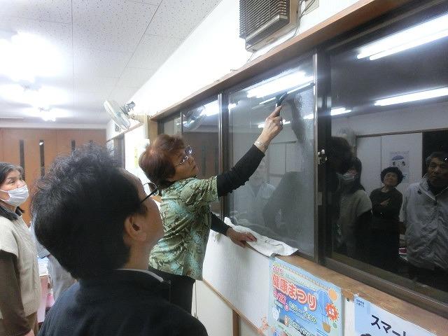 まずは「自助」から! 駿河台三丁目の「窓ガラスの飛散防止フィルム講習会」_f0141310_7414287.jpg