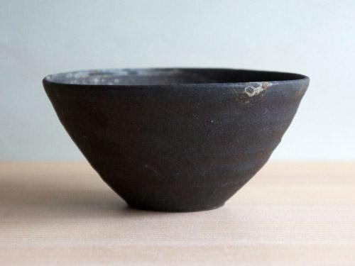 深田容子さんのあめ釉と黒鉄釉のうつわ。_a0026127_17155147.jpg