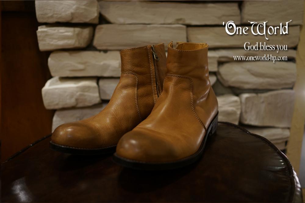 PADRONE サイドジップ 短靴_a0155932_18344741.jpg
