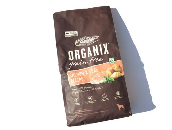 ORGANIX Grain Free SALMON & PEAS  オーガニクス グレインフリー     サーモン& ピー_d0217958_17542847.jpg