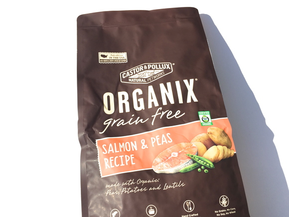 ORGANIX Grain Free SALMON & PEAS  オーガニクス グレインフリー     サーモン& ピー_d0217958_1754373.jpg
