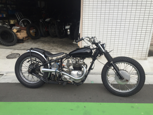 Triumph Chopper For Sale!!_b0238461_21290493.jpg