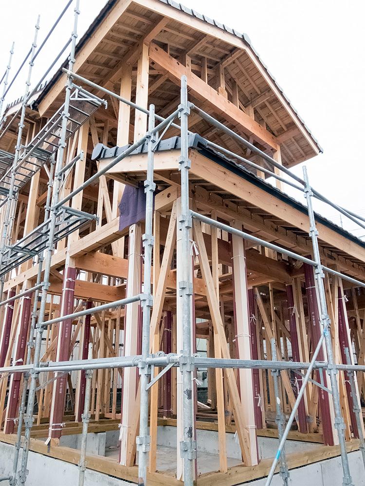 伝統ある町並みに建てる風格ある木造邸宅(2)_a0163962_7461262.jpg