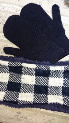 おそ松さん風手袋をつくってみた。20151126_e0225183_23243727.jpg