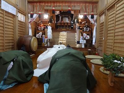白山神社「新嘗祭」    常蔵「秋ごと」_b0092684_17592472.jpg