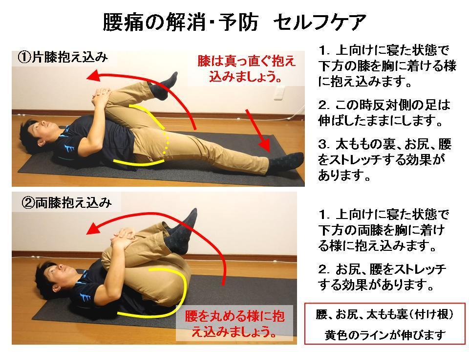 腰痛に効果的なセルフケア(前に倒れる動作の痛み)_c0362789_07034932.jpg