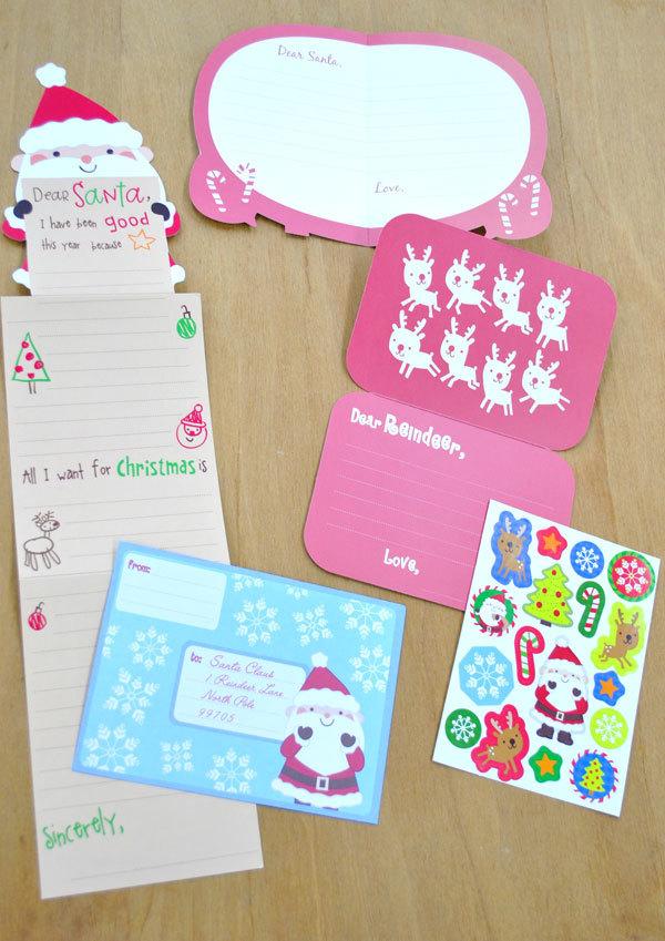 サンタさんへのお手紙セット 420円_d0225198_17573673.jpg