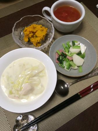 鶏肉と白菜のクリーム煮_d0235108_21381636.jpg