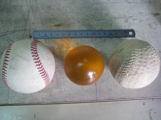 ウレタンボールを製作してみました。_e0108337_14245727.jpg