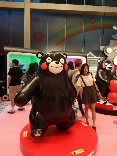 くまモン in Hong Kong_b0248150_11421007.jpg