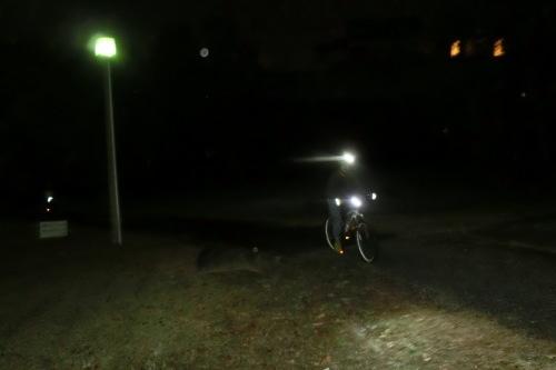 夜サイクリングはロードからMTBに!_b0332867_22433443.jpg