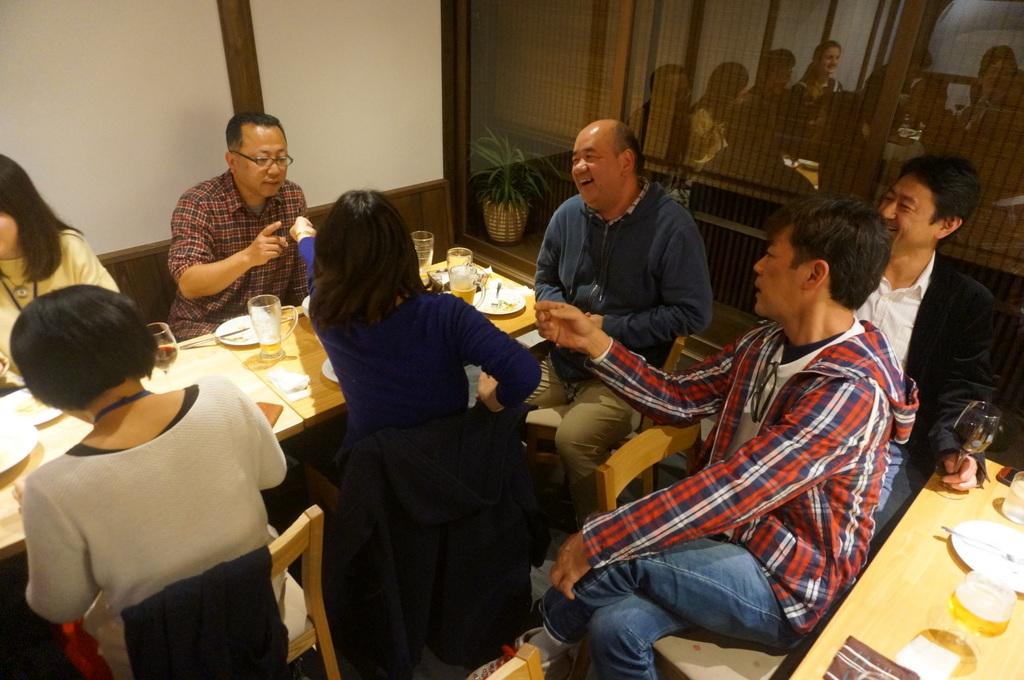 津和野刊行イベント、打ち上げはアルチジャーノさんで。_c0180686_20330364.jpg