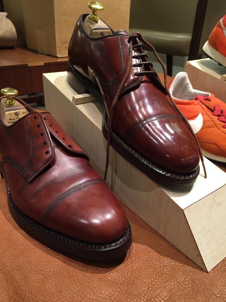 靴のお手入れ実演会_d0166598_20544120.jpg