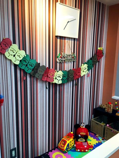 クリスマスの飾り付け_f0224804_1794517.jpg