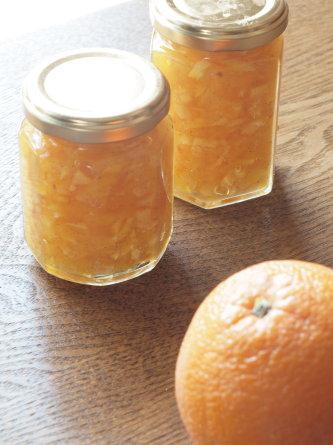 オレンジのシフォンケーキ&ビスキュイ_b0254207_18413945.jpg