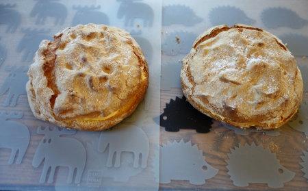 オレンジのシフォンケーキ&ビスキュイ_b0254207_18532445.jpg