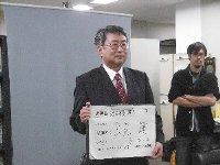 山元たけしさんが池田市長選挙に立候補表明!_c0133422_1384843.jpg