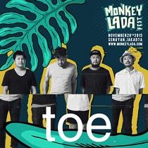 インドネシアの音楽祭:Monkeylada Festival 日本のtoeが出演_a0054926_17195212.jpg