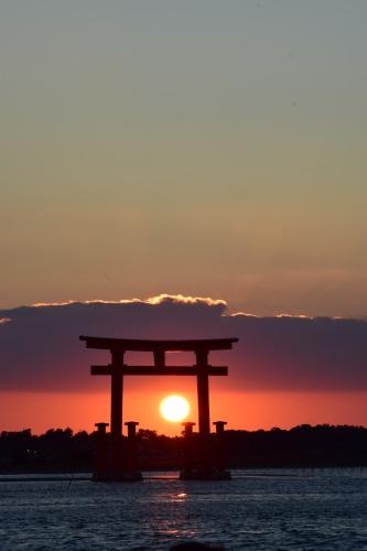 夕陽_d0285540_19000568.jpg