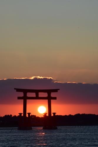 夕陽_d0285540_19032986.jpg
