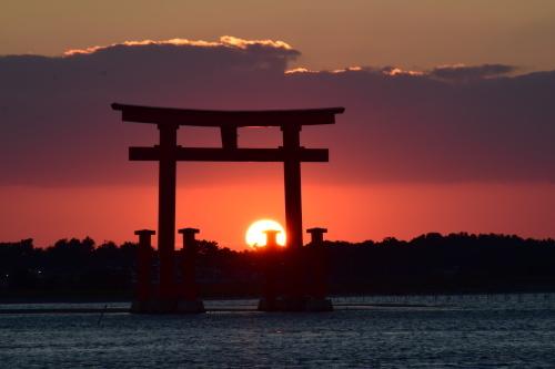 夕陽_d0285540_19033413.jpg